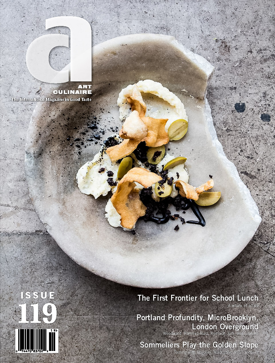 Art Culinaire Magazine 119 Cover |www.jonathanthompsonphotography.com