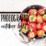 Food Photography, Hard Outdoor Light