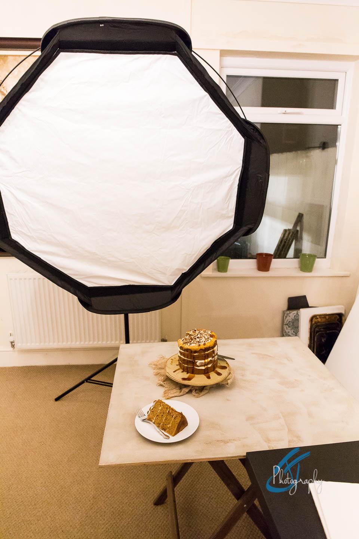 Lastolite Ezybox Octa for food photography