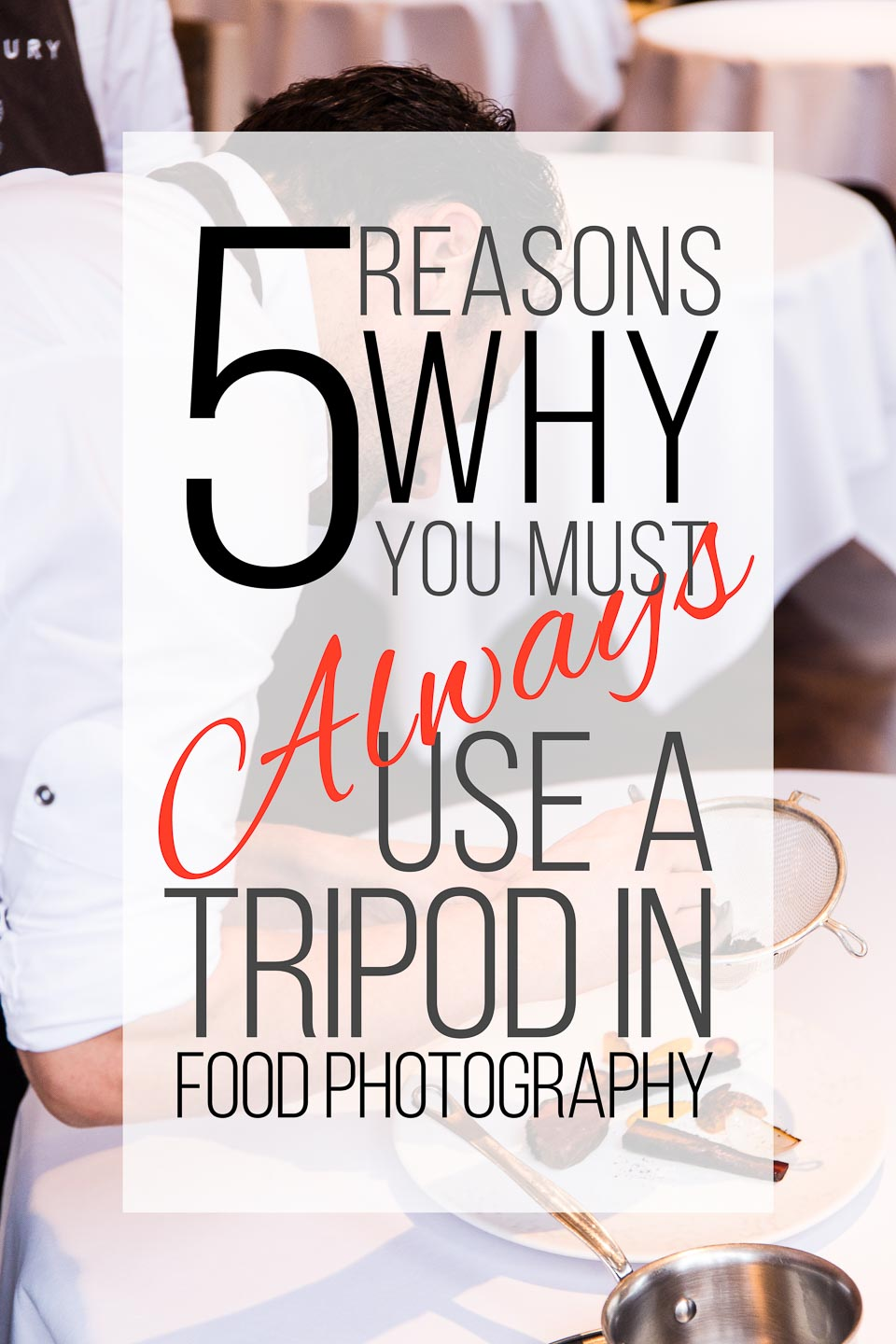 5 Reasons why must always use tripod-