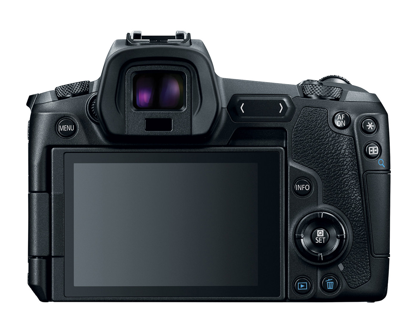 Canon EOS R rear view