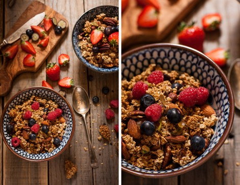 Wilde Orchard's Home Made Granola
