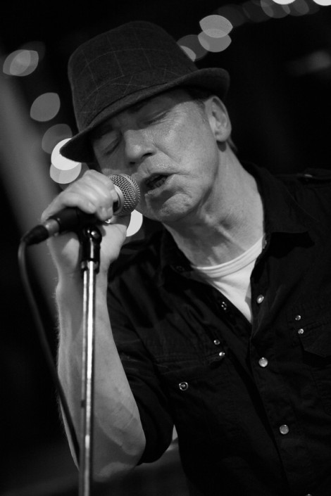 Graeme Reece, vocalist and musician